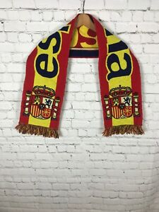 SPAIN World Cup Country Flag Football Soccer Neck Scarf Souvenir Scarve