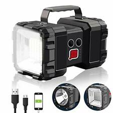 Rechargeable Flashlight Alpswolf LED Spotlight Flashlight 15000mAh 4000LM 20h