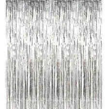 2m*1m Metallic Fringe Curtain Party Foil Tinsel Room Door Wholesale Wedding Home
