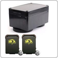 Mega Akku-Box 20.000 mAh wasserdicht + Magnete für GPS Tracker TK104 TK102 V3 V6