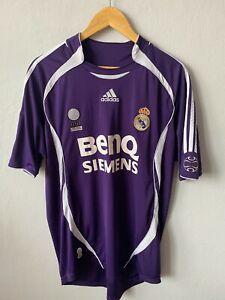 REAL MADRID 2006 2007 THIRD FOOTBALL SHIRT SOCCER JERSEY ADIDAS 055226 MAGLIA