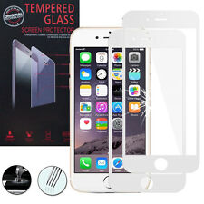 "2x Cristal protector para Apple iPhone 6/6s 4.7"" real de pantalla BLANCO"