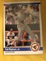 1984 Fleer Cal Ripken Jr #17 Baltimore Orioles Baseball 2nd Year Card
