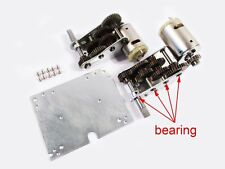Steel 3:1 Gearbox with Bearings for 1/16 Henglong Tiger I tank MT193