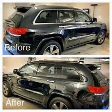 Fits Jeep Grand Cherokee 2011+ Window Chrome Trim Blackout Kit Gloss Black/Matte
