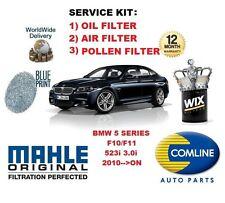 POUR BMW SÉRIE 5 F10 F11 523 3.0 2010 > FILTRE POLLEN AIR HUILE KIT ENTRETIEN