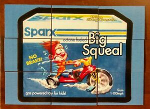 2020 Brand Busters Wacky Packages Series 1 Complete Big Squeal Puzzle Set