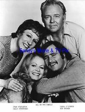 CAROL O'CONNOR, JEAN STAPLETON, STRUTHERS Original TV Photo ALL IN THE FAMILY