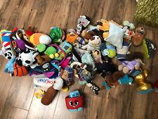 Huge LOT Bark Box Dog Stuffed Toys 39 Pieces New & Used