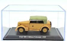 MODELLINO AUTO FIAT MILITARE COLONIALE 1/43 DIECAST MINIATURE CAR MODEL NOREV
