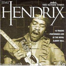 JIMI HENDRIX -- SUNDAY TIMES PROMO MUSIC CD(FREE UK POST)