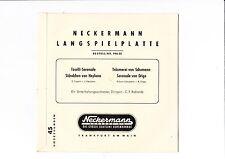 Neckermann Schallplatten