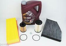 Filterset Inspektionspaket inkl. 5L Öl für VW Passat 3B3 3B6  1,9TDI 74 96 kW