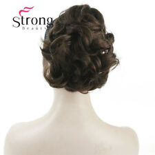 Short Curly Clip In Claw Ponytail Hair Extension Synthetic Hairpiece with Clip