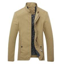 Hot Spring Men's jackets fashion casual jacket coats collar Slim Short thin coat