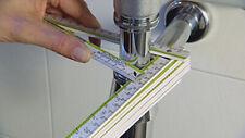 KNAKKE Zollstock DAS ORIGINAL mit patentierter Durchmesser-Skala Stabila 2m