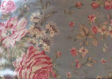 NEW! Ralph Lauren Shelter Island Pillow Sham Standard Cottage Chic Roses Blue