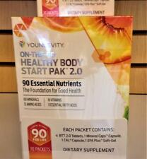 Youngevity On The Go Healthy Body Start Pak 2.0 30 packets Dr Wallach Free Ship