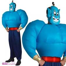 DISNEY Genie Aladdin Inflatable Torso Licensed Adult Film Fancy Dress Costume