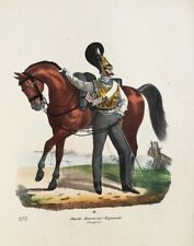 Prussia Garde Kürassier Reggimento Uniforme Koller Raupenhelm Gardestern Ulan