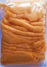 COLOR- WATTE 150 g Farbwatte, farbige, bunte Dekowatte orange Art.12025 APRICOT