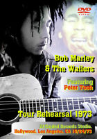 BOB MARLEY & THE WAILERS FEATURING PETER TUSH TOUR REHEARSAL 1973 DVD FSVD-087