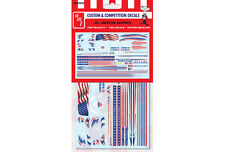 AMT All American Graphics Water Release Decals 1/25 MKA26