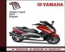 Yamaha Xp500 T-max 2007 Service Reparación Manual De Taller