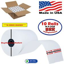 3 1//8 x 230 Thermal Paper 10 Rolls BPA Free Express Delivery for Star TSP100