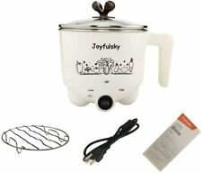 Electric Hot Pot 1 Liter Student Must have Pot Rapid Noodles Cooker Multi-fun...