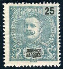LORENZO MARQUES 1898 37C gezähnt 13 ½ ungummiert TADELLOS (I2484