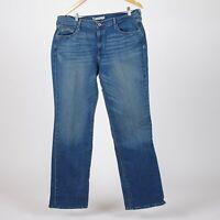 Levi's 505 Straight Leg Medium blau Damen jeans DE 34 W26 L32