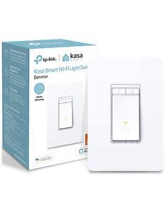 Kasa Smart Dimmer Switch by TP-Link, Single Pole, Needs Neutral Wire,WiFi Light