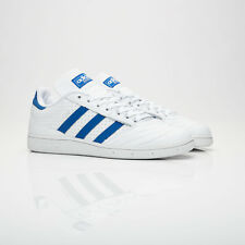 adidas Busenitz Pro Skateboard Street Leather SNEAKERS Shoes BY3971 White Blue EUR 44