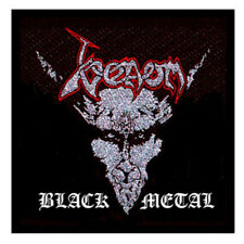 OFFICIAL LICENSED - VENOM - BLACK METAL SEW ON PATCH THRASH METAL