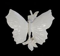 9959417 Porcelain Figurine Ens Butterfly White 17 x 15 x 8 CM