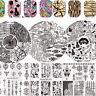 Nail Art Stamping Plate Stamp Image Printing Template  Decor Born Pretty
