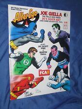 ALTER EGO #52 Signed Comic Magazine by Joe Giella (Batman/JLA/Joker/Flash)