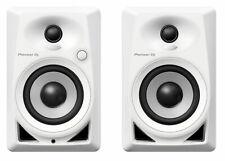 """Pioneer DM40 4"""" Desktop Monitor Speakers - White"""