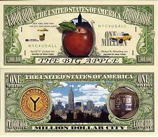 The Big Apple - New York City Million Dollar Novelty Money