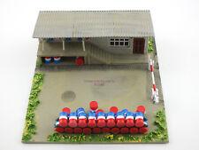 Kibri HO Oil Depot Office ESSO with box