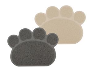 Multi-Purpose PAW Cat Dog Mat Food Feeding Bowl Dishes Placemat Non-slip mats UK