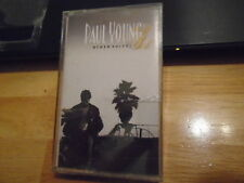 SEALED RARE PROMO Paul Young CASSETTE TAPE Other Voices PINK FLOYD Stevie Wonder