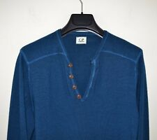 C.P. COMPANY Pull maille Homme bleu 46 laine S/M Small Medium cp company