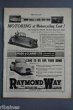 R& L Ex-Mag Advert: Pride & Clarke / Raymond Way, Bond Minicar Mark C Model