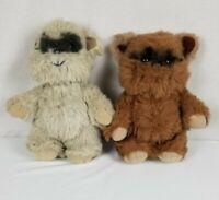 "Vintage 1983 Kenner Princess Kneesaa & Wicket The Ewok 15"" Plush Stuffed Animal"