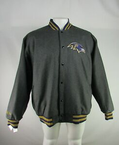 Baltimore Ravens NFL G-III Men's Reversible Quilted Jacket