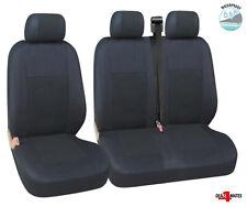 For Peugeot Expert Boxer Partner Waterproof Black Quality Fabric Van Seat Covers