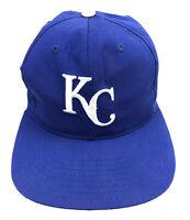VTG Twins Enterprise MLB KC Kansas City Royals Snapback VTG Baseball Hat 1990s O