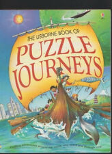 The Usbourne Book Of Puzzle Journeys 3 in 1 - Around The world/Into Space/Time